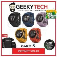 Garmin Instinct Solar - Garansi TAM 2 Tahun - Graphite