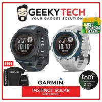 Garmin Instinct Solar Surf Edition - Garansi TAM 2 Tahun
