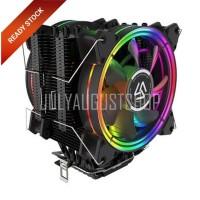 Alseye H120D - Powerful RGB Air CPU Cooler With 2 Fan