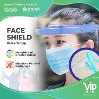 FACESHIELD BUKA TUTUP/Faceshield /Pelindung Wajah APD/Face shield