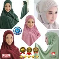 Mukena Siti Khadijah katun rosella bagus murah cantik ori