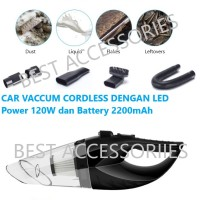 HEPA Car Vacuum CORDLESS Cleaner High Power Vakum Wireless Mobil O593