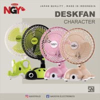 NAGOYA NG-188 Kipas Angin Meja Karakter 8inci / Portable Desk Fan 8inc