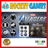 Pin Set PS4 Marvel Avengers Crystal Dynamics