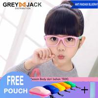 Kacamata Anak/ Kacamata Anti Radiasi/ Kacamata Anti Sinar Biru/S802