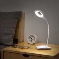 Lampu LED Meja Belajar/Lampu Baca White Portable