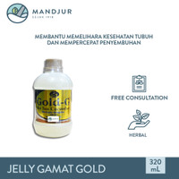 Jelly Gamat Gold G Sea Cucumber 320 mL - Ekstrak Teripang Laut Asli