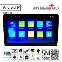 2 din Head Unit Android 9 inch Skeleton 8189 Double Din Bluetooth GPS
