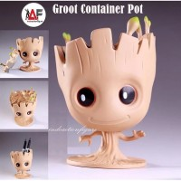RARE LIMITED Action figure Marvel Groot Container Pencil flower pot