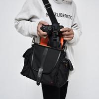 TFG - Tas Kamera Camera Bag Leibovitz 403 Black berkualitas