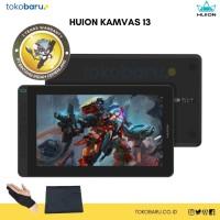 Huion Kanvas 13 Pen Tablet display Bonus ProGlove dan Softcase-Black - PAKET LENGKAP
