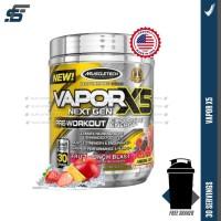 Muscletech Vapor X5 Nextgen 30 Servings Vaporx5 Next Gen Pre Workout
