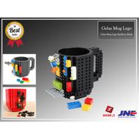 Gelas Mug Lego Build-on Brick