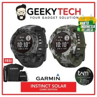 Garmin Instinct Solar Camo Edition - Garansi TAM 2 Tahun - Graphite Camo