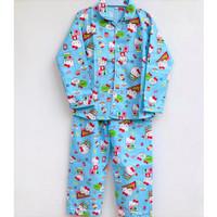 Setelan Piyama Baju Tidur Anak Perempuan Hello Kitty 6-11 Tahun