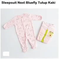 Ready Stock Sleepsuit Panjang 3 In 1 Tutup Kaki / Piyama Bayi Motif