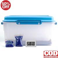 DryBox - Dry Box Kamera DSLR Mirrorles Bonus 2 silica gel Anti Jamur