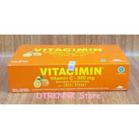 VITACIMIN C-500mg isi 100 ( Lemon / Orange / Blueberry / FruitPunch )