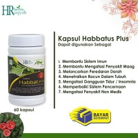 kapsul Habbatussauda plus #Obat #Herbal