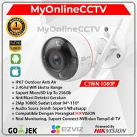 EZVIZ C3WN 1080P Ekstra Wifi Range IP Camera CCTV Outdoor By Hikvision - C3WN ONLY