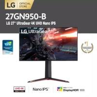 27GN950 -B Inch Monitor LG 4K UHD Nano IPS 1ms 144Hz G-Sync Compatible
