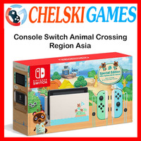 Nintendo Switch Limited Edition Animal Crossing New Horizons Reg Asia - CONSOLE POLOS