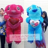 Boneka Stitch 1meter free ukir nama/foto