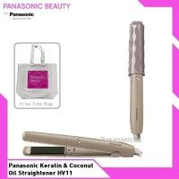 Panasonic Keratin & Coconut Oil Straightener HV11 Catokan Rambut E