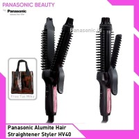 Panasonic Alumite Multi Hair Straightener Styler HV40 Catokan Sisir