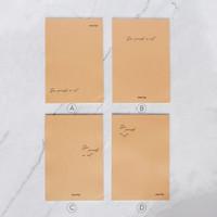 See Yourself In Art Plain Notepad B5 / Buku Catatan B5 / Notes B5