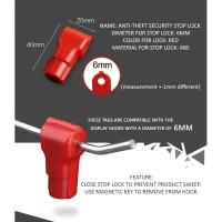 STOP LOCK SECURITY DISPLAY / KUNCI RAM MAGNET / PENGUNCI RAK DISPLAY