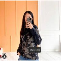 ELLIPSES.INC Kaos Wanita TIE DYE - Lengan Panjang
