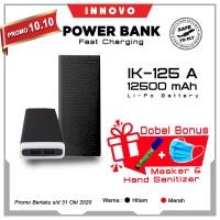 Power Bank 12500mAH INNOVO ORIGINAL Portable Charger LED Torch IK-125A