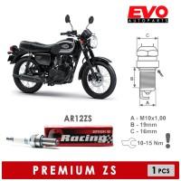 Busi BRISK Premium ZS AR12ZS untuk Kawasaki W175