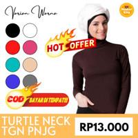 Manset Kaos Panjang / Turtle Neck Tangan Panjang / Dalaman Baju