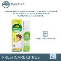 FreshCare Aromatheraphy Citrus - Atasi Gejala Masuk Angin, Flu, Pegal