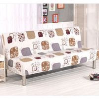 Elastic Sofa Bed Cover / Sarung Tutup Sofa Bed Elastis Motif