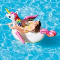 Pelampung Renang Anak Intex Unicorn Ride-On /Ban Renang Besar Karakter