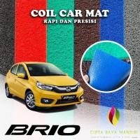 Karpet Mobil Premium HONDA Brio Non Bagasi 1 Warna - Biru
