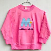 Baju Kaos Anak Perempuan Lengan Panjang Impor 5-10 Tahun