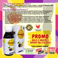 Pluma 6 Pelangsing Herbal Penurun Berat Badan Madu diet / detoxs