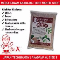 Media Tanam Akadama Soil DR.X 6 Liter - Size S