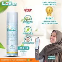 Lavme X Shireen Sungkar Disinfectant Spray Anti Virus Organic - 250 ML