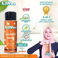 Lavme X Olla Ramlan Disinfectant Spray Anti Virus Organic - 400 ML