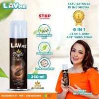 Lavme Disinfectant Spray Anti Virus Organic - 250 ML Royal Coffee