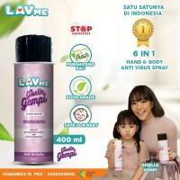 Lavme X Giselle Gempi Disinfectant Spray Anti Virus Organic - 400 ML