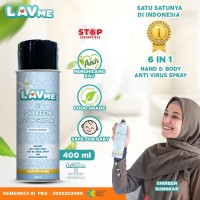 Lavme X Shireen Sungkar Disinfectant Spray Anti Virus Organic - 400 ML