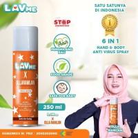 Lavme X Olla Ramlan Disinfectant Spray Anti Virus Organic - 250 ML