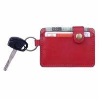 Dompet STNK Motor Mobil SIM eToll Gantungan Kunci Kulit Sapi DSK-M04