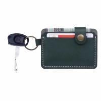 Dompet STNK Motor Mobil SIM eToll Gantungan Kunci Kulit Sapi DSK-H04